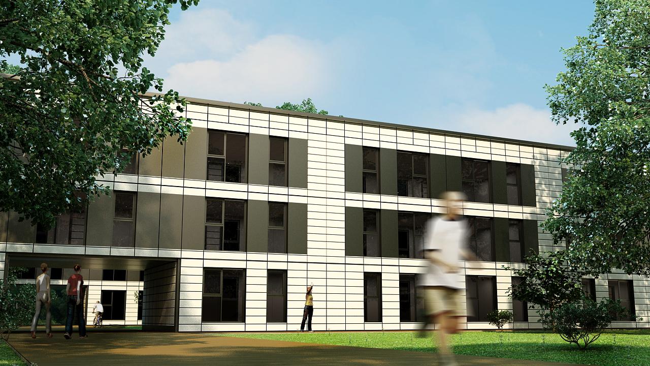 Modular Apartment Block