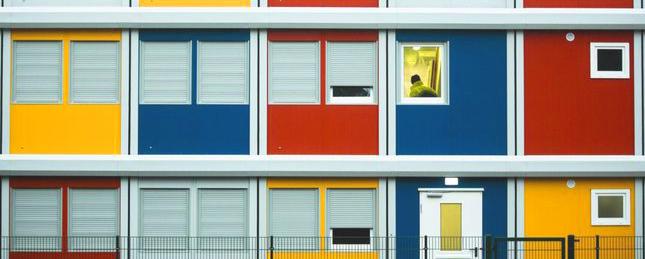 Container Housing in Berlin