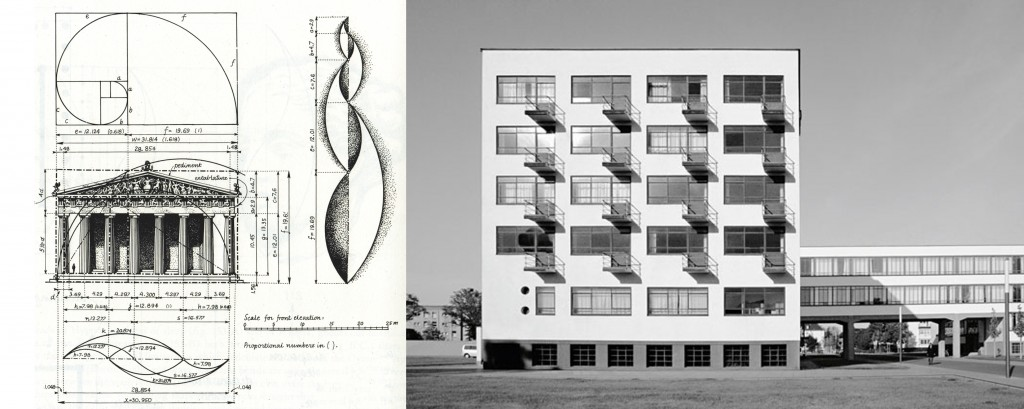 Arquitectura Clásica vs Arquitectura Racionalista