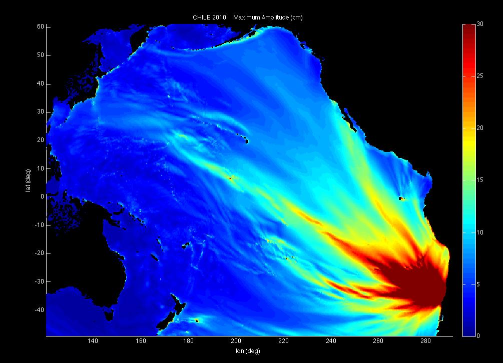 Tsunami Chile 2010
