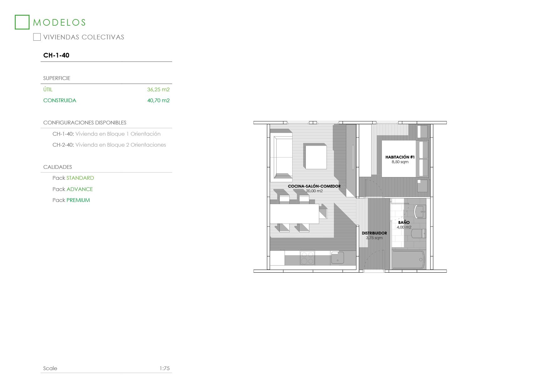 Apartamento Modular Cidark